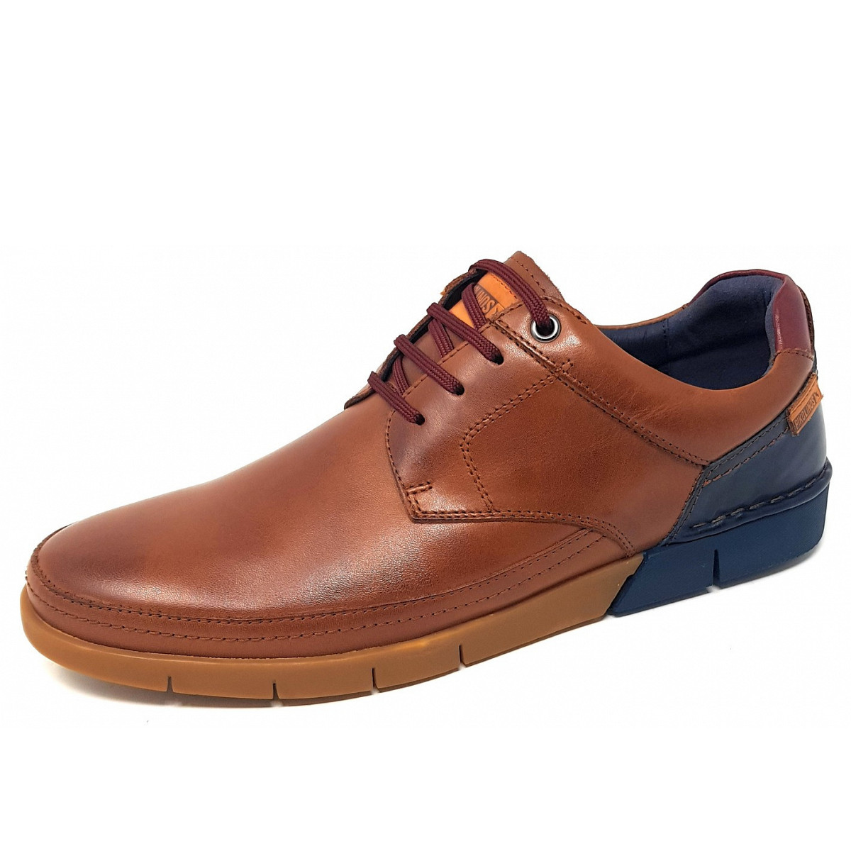 Pikolinos Schuhe SANTIAGO braun Herrenschuhe bequeme Slipper M8M-3172 cuero NEU