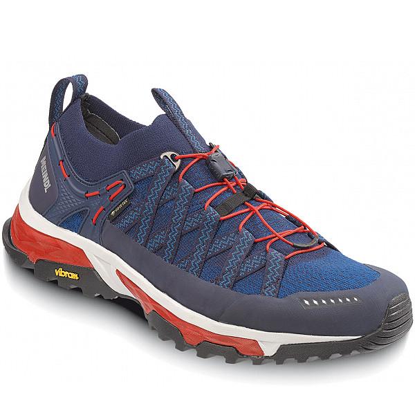 Meindl Outdoor Schuh marine/rot
