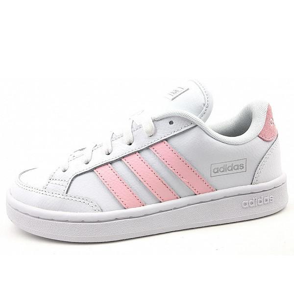 adidas Grand Court Sneaker white pink