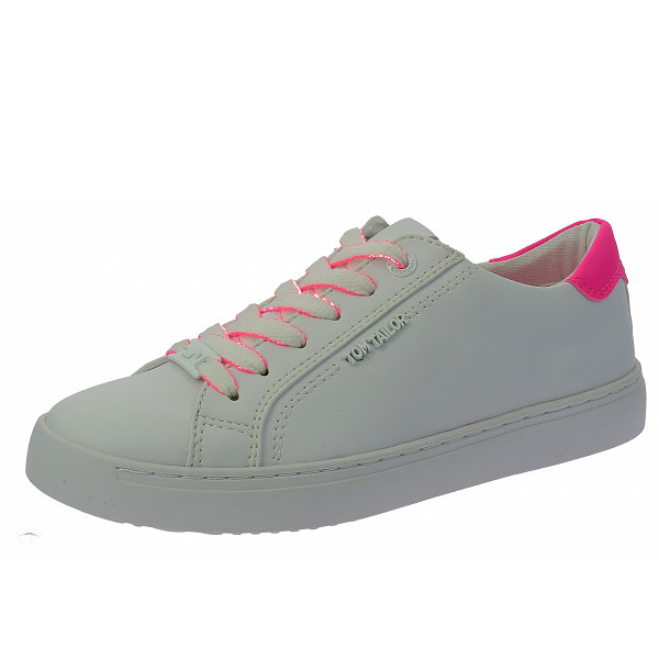 Tom Tailor Sneaker white-neon pink