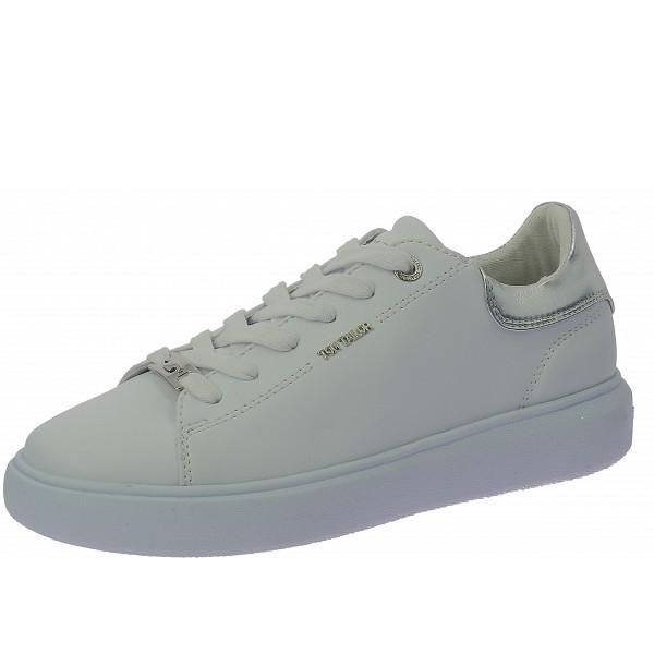 Tom Tailor Sneaker white-silver