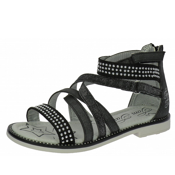Tom Tailor Sandalette black