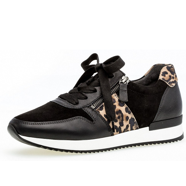 Gabor Sneaker schwarz natur