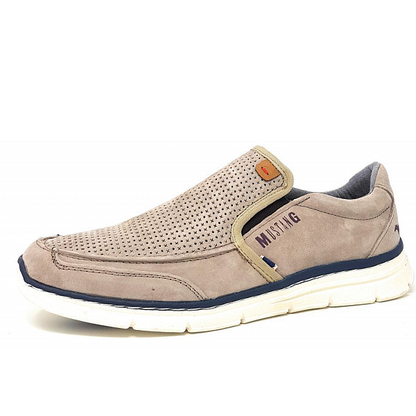 Mustang He.-Schuh Slipper 318 taupe
