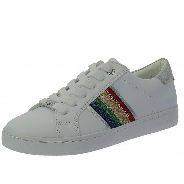 Tom Tailor Sneaker white