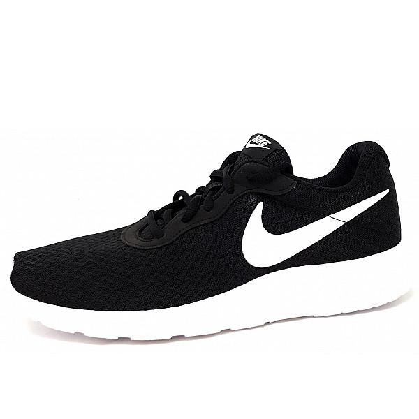 Nike Tanjun sportlicher Schnürer 011 black/ white