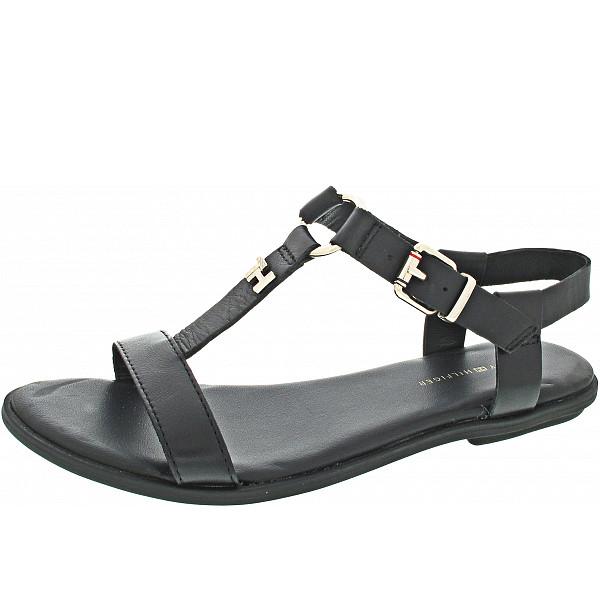 Tommy Hilfiger Feminine Flat Sandal Sandale black