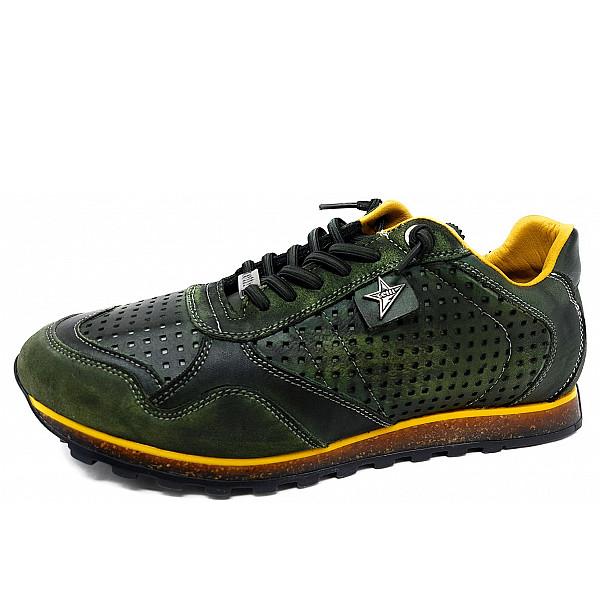 Cetti Sneaker musgo mostaza
