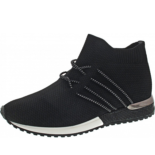 La Strada Slipper knitted black