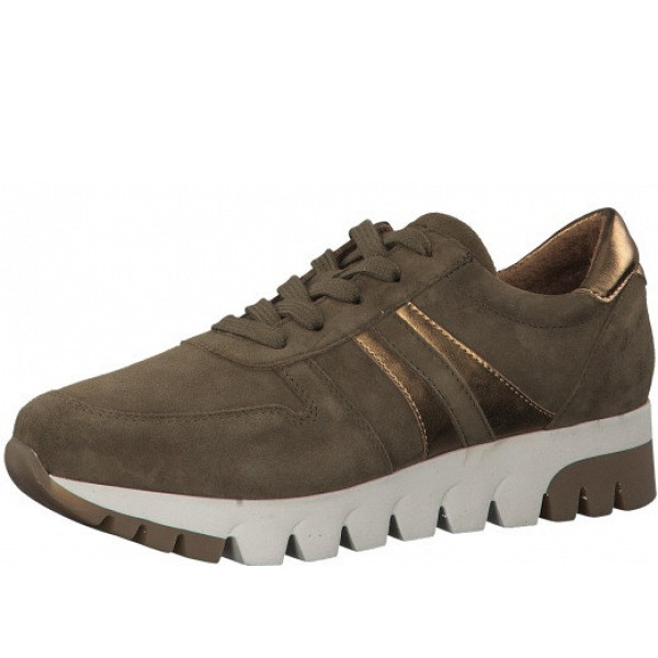tamaris Sneaker grün