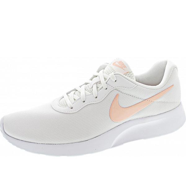 Nike Wmns Tanjun Sneaker white-coral