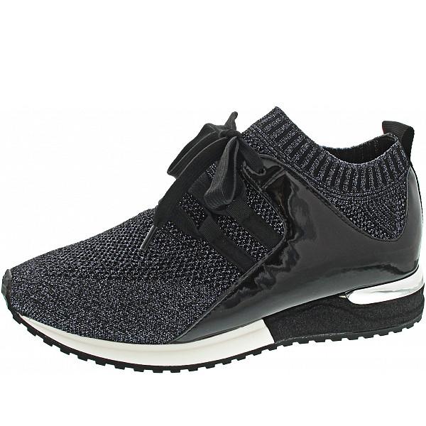 La Strada Sneaker blue black knitted