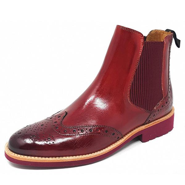 Melvin & Hamilton Selina 6 Chelsea Boot pisa rubinio burgundy