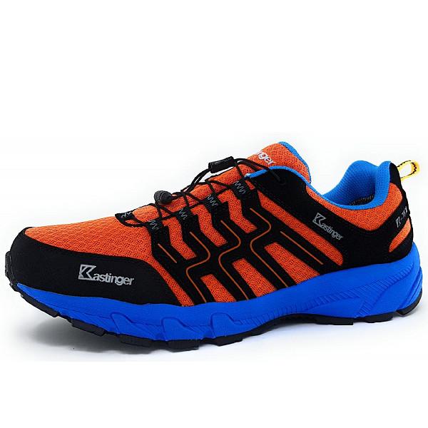 Kastinger Trailrunner Wanderschuh orange blue