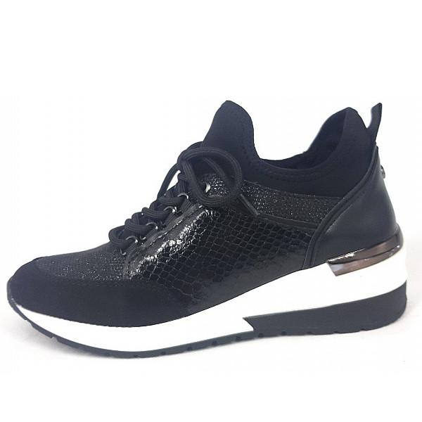 La Strada Sneaker combi black
