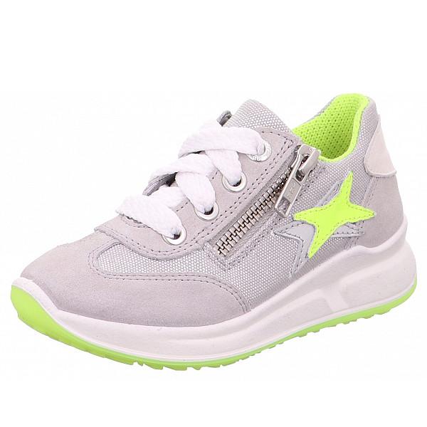 Superfit Sneaker hellgrau-gelb