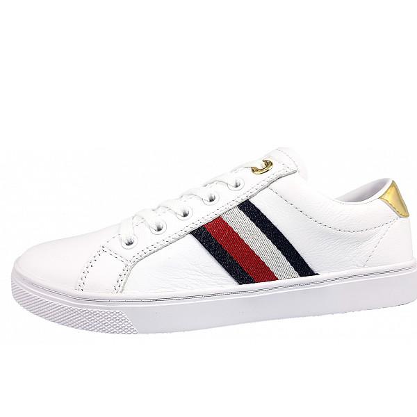 Tommy Hilfiger Cupsole Sneaker YBR white