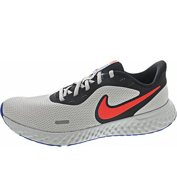 Nike Revolution 5 Sneaker blk-red-lt.smokegrey