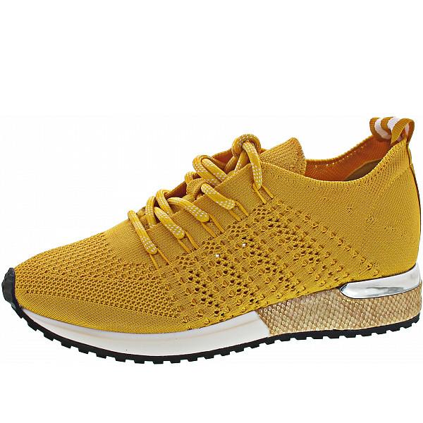 La Strada Sneaker knitted yellow