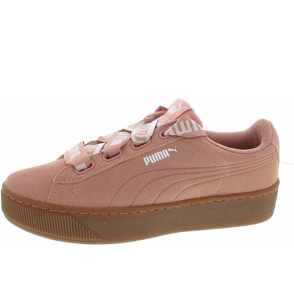 Puma Vikky Platform Ribbon Bol Sneaker pearl beige-peach beige