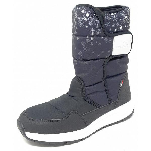 KangaRoos Fluff RTX Boots jet black/vapor grey