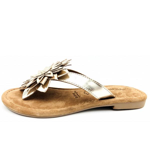 Tamaris Woms Slides Pantolette Gold