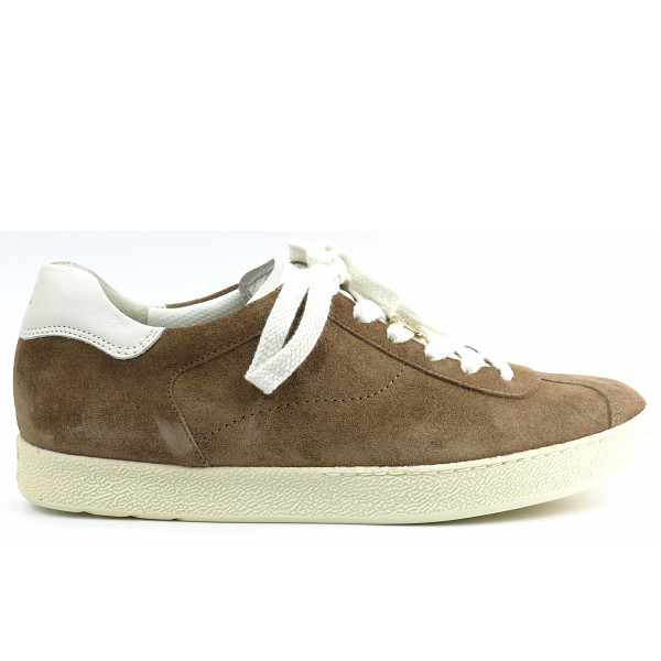 Paul Green RS/Softcalf Antelope/Ivor Sneaker low Taupe