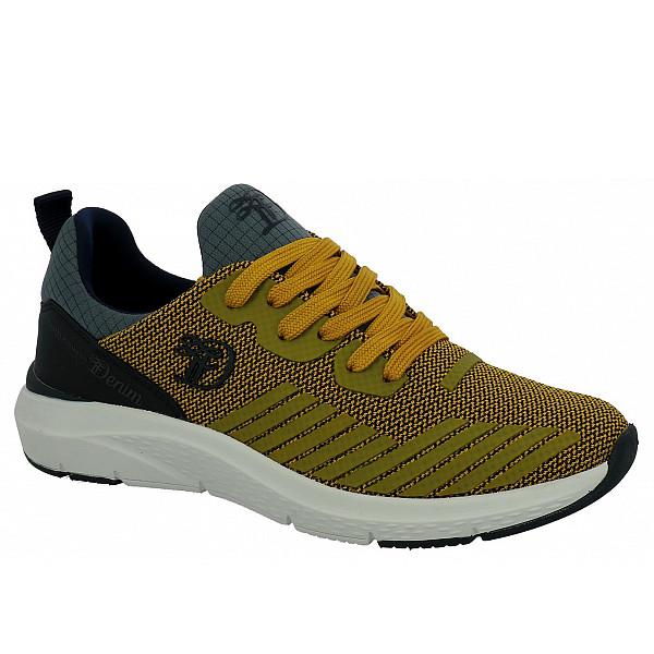 Tom Tailor Sneaker yellow-navy