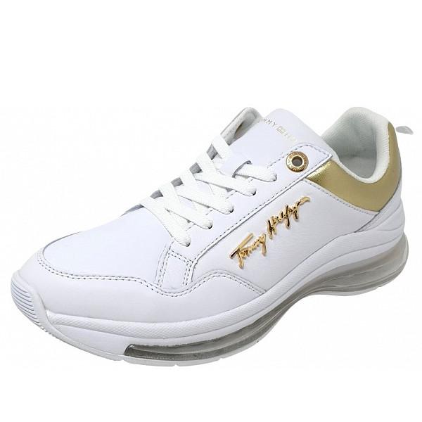 Tommy Hilfiger Sneaker weiß-gold