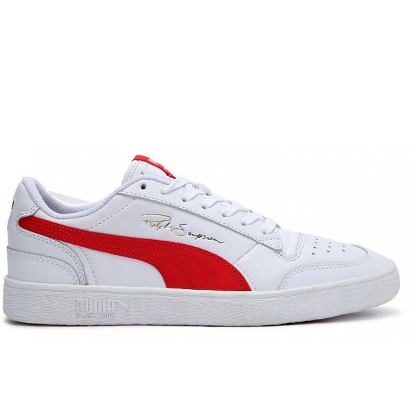 Puma Sneakers puma white / high risk red