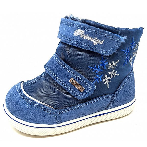 Primigi Snorky-WF Klettstiefel azzuro jeans
