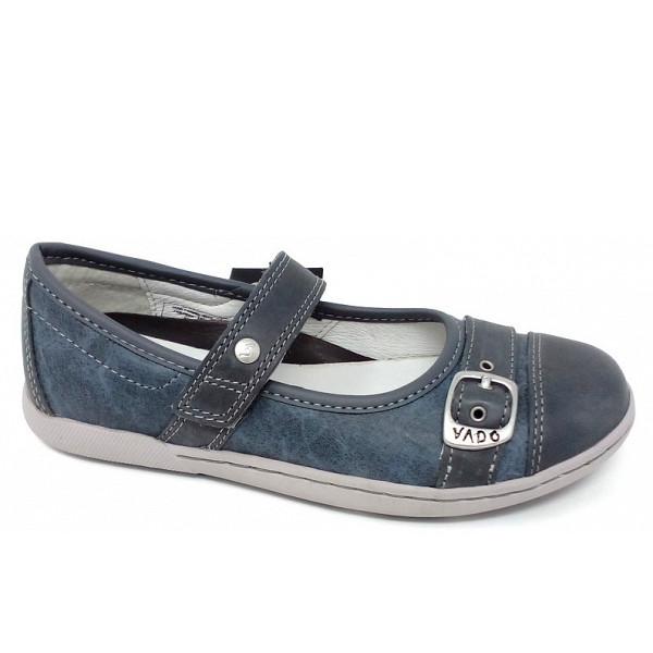 Vado 123 Paula Jeans Klettverschluss blau