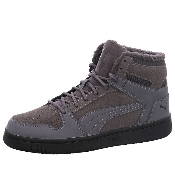 Puma Rebound LayUp SD Fur Sneaker high grau