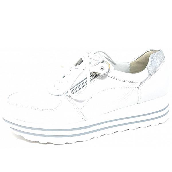 Waldläufer Lona Weite H Sneaker weiß silber