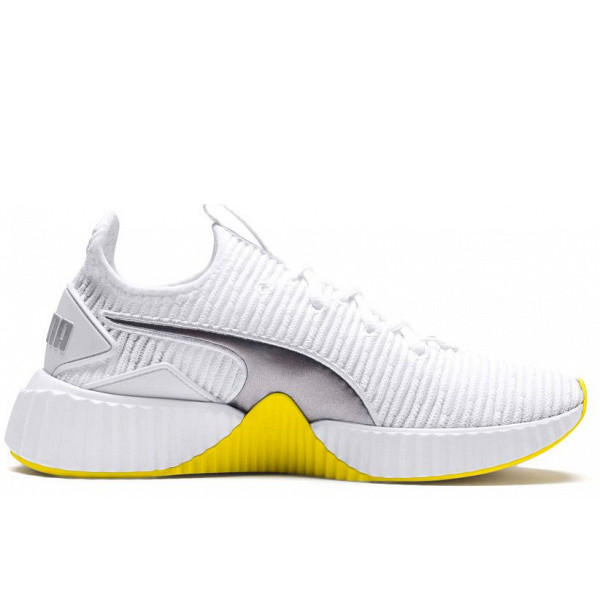 Puma Sneakers Puma White-Blazing Yellow