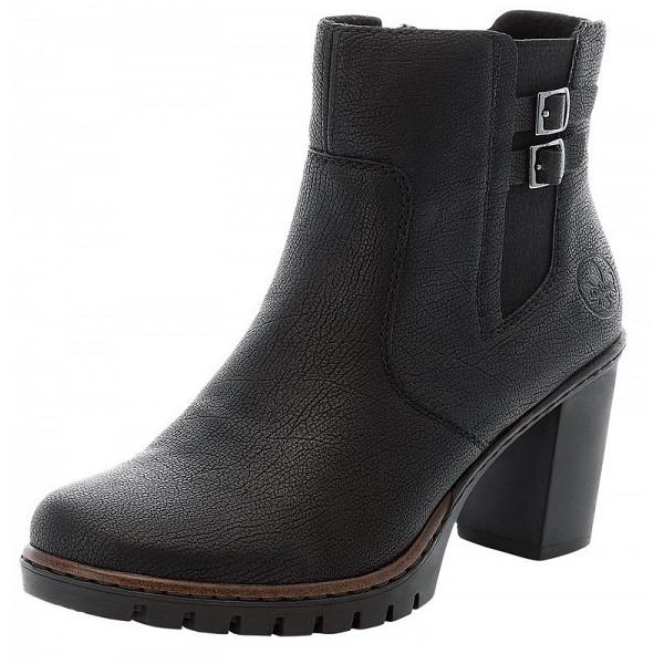 Rieker Stiefel schwarz