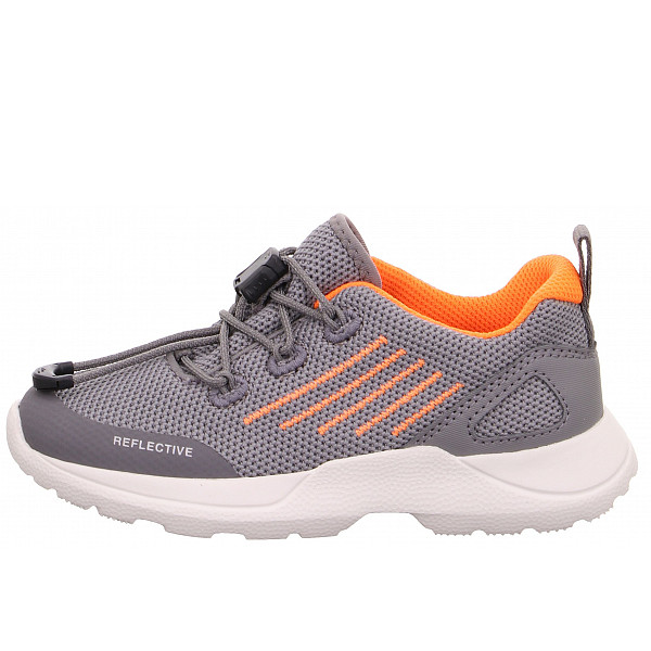 Superfit RUSH Halbschuhe HELLGRAU/ORANGE