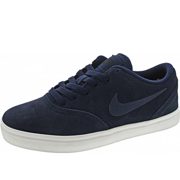 Nike SB Check Suede (GS) Sneaker navy-black
