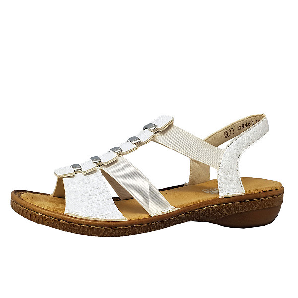 Rieker Sandale 80 weiß
