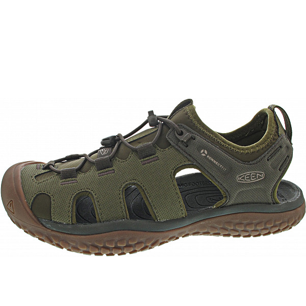 KEEN Solr Sandal Sandale dark olive - taupe