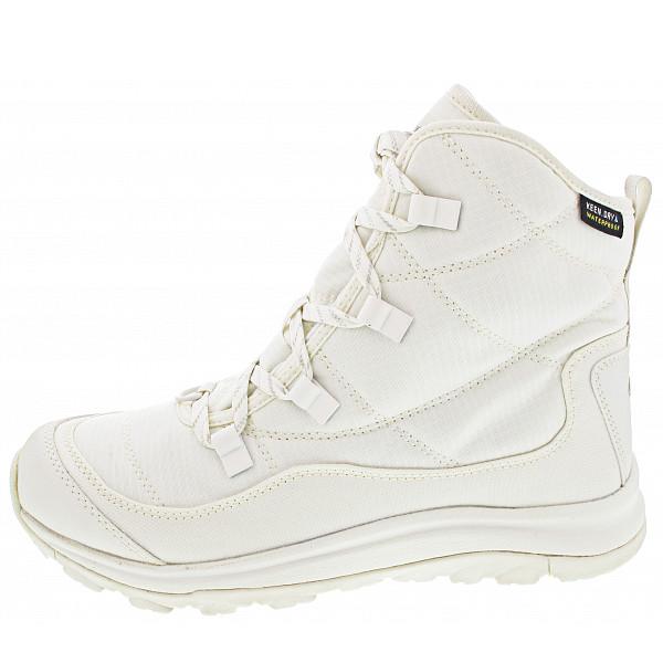 KEEN Terradora II Ankle Boot Schnürstiefel star white-silver birch