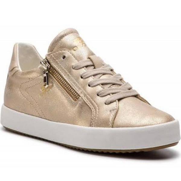 Geox D Blomiee taupe/beige Sneaker lt.taup/beige
