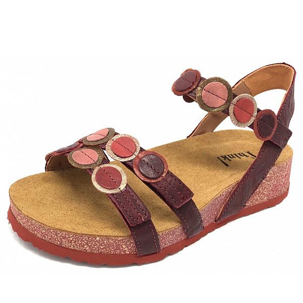 Think Koak Rosso Kombi Sandale rot