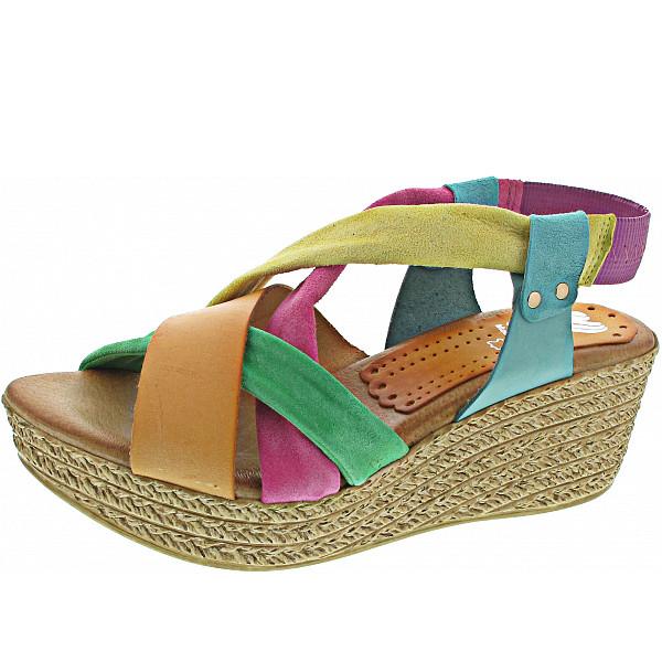 Marila Serr. Multicolor Sandalette multicolor