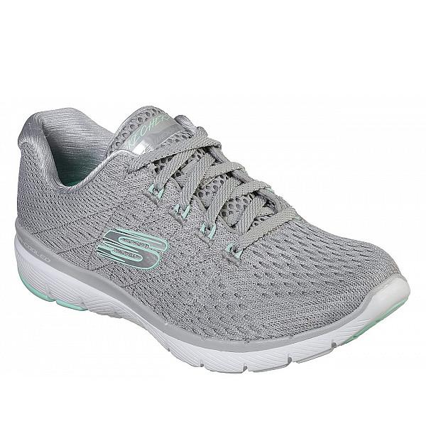 Skechers Sportschuh Grey/ mint/ white