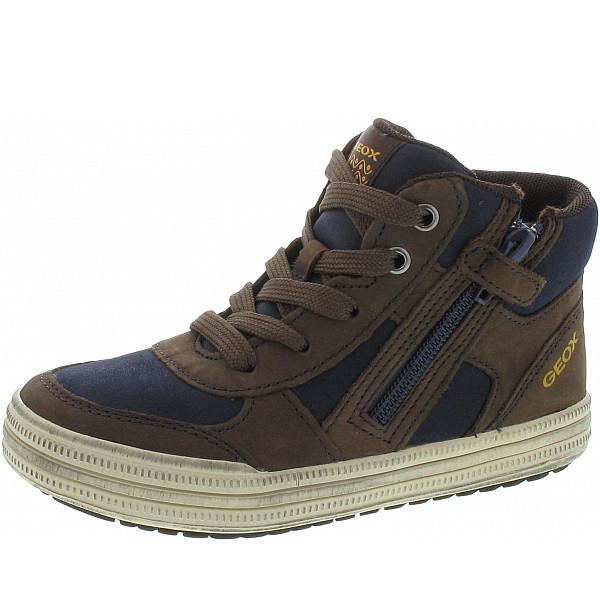 Geox Elvis Sneaker bronw-navy