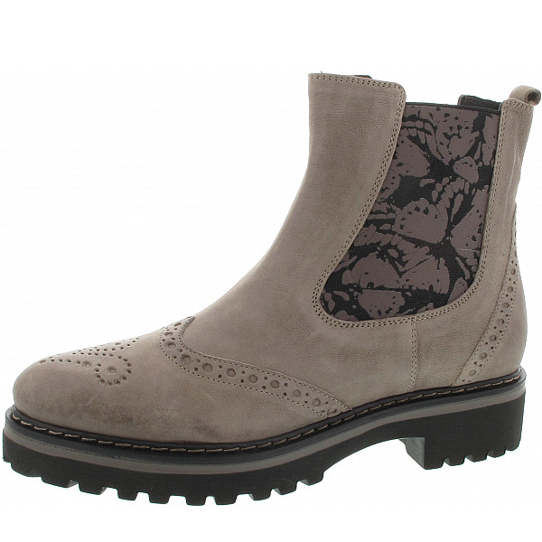Donna Carolina Stiefelette stone-fly taupe nori fang
