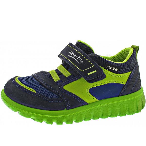 Superfit Sport7 Mini Kletthalbschuh blau-grün