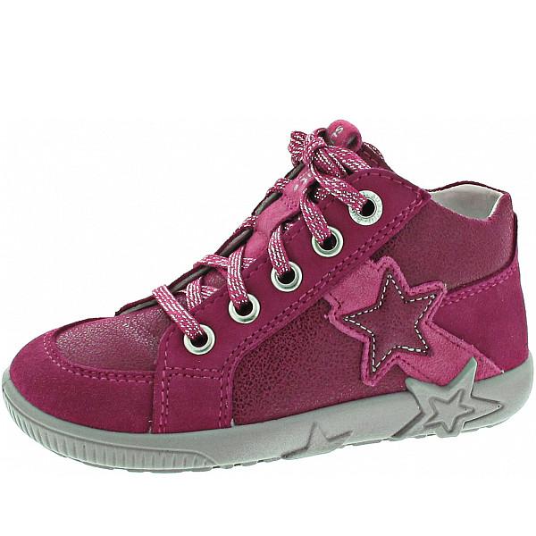 Superfit Starlight Lauflernschuh rot-rosa