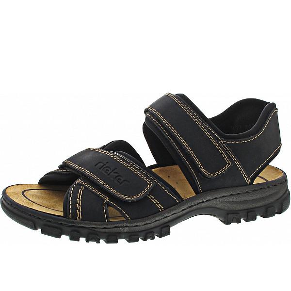 Rieker Sandale schwarz/schwarz